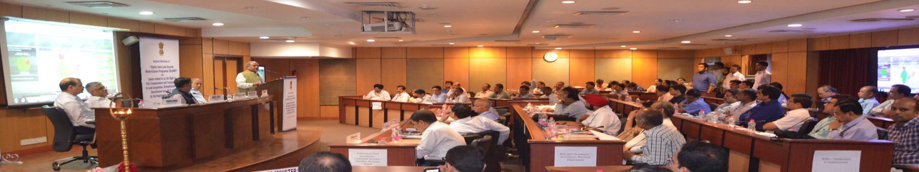 National workshop of Digital India Land Resources